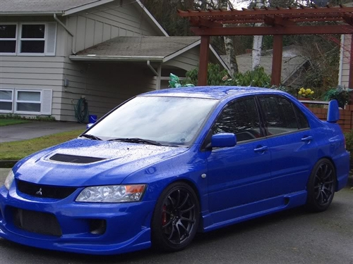2003 2007 mitsubishi evo 8 9 4dr wings ings front bumper. Black Bedroom Furniture Sets. Home Design Ideas