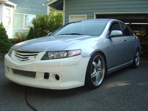 2004 2005 Acura Tsx 4dr Ken Style Front Bumper