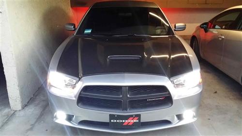 2011-2013 Dodge Charger 4Dr Srt Carbon Fiber Hood