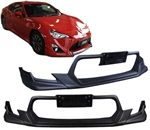 2013 SCION FRS GT86 FRONT BUMPER TRD STYLE URETHANE