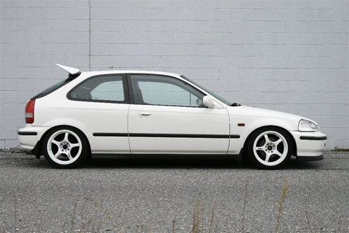 Honda 96 00 Ek Civic Hatch Zeal Wing Replica Frp