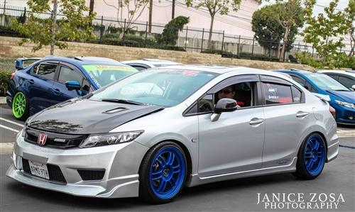 2012 2014 Honda Civic Jdm Type R Front Bumper Cover W Pp