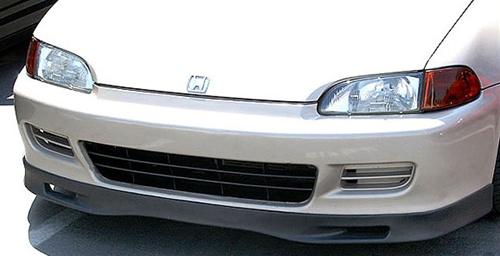 92 95 Honda Civic 2 3dr Front Bumper Lip Spoon Style Pu