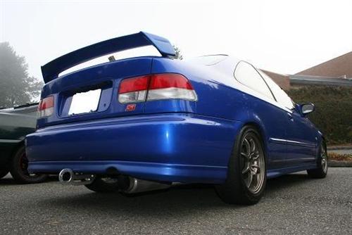 96 00 Honda Civic 2 4 Door Trunk Spoiler Mugen Style Plastic