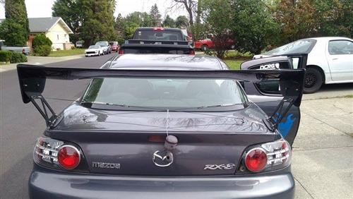 2004-2008 rx-8 voltex style carbon fiber spoiler