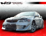 2003-2007 Mitsubishi Evo 8/9 4Dr D Speed Front Bumper