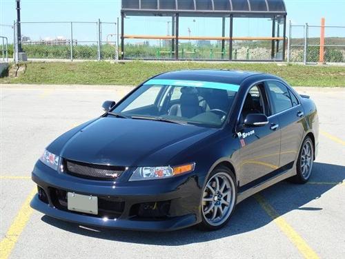 Acura Tsx Dr Spoon Style Front Bumper - Acura tsx bumper