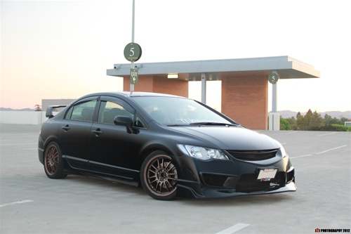 civic front  jdm conversion kit