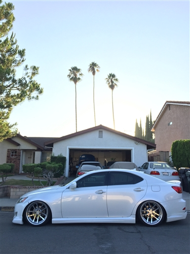 2006-2008 Lexus Is 250/350 4Dr Wings Full Lip Kit