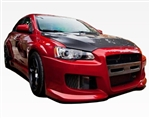 2008-2015 Mitsubishi Evo 10 Z Speed Wide Body Fender Flares