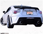 2013 Scion FRS 2dr Alfa Rear Bumper