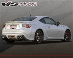 2013 Scion FRS 2dr Techno R Rear Lip ( TRD style )