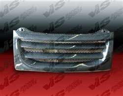 1990-1996 Nissan 300Zx 2/2+2 Demon Carbon Fiber Front Center Grill