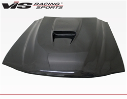 1994-1998 Ford Mustang Ss Style Carbon Fiber Hood