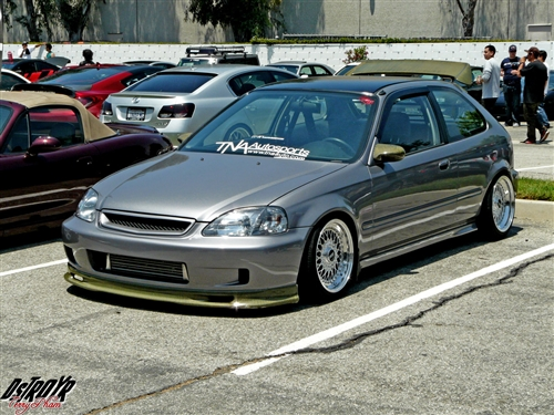 Civic Spoon Lip K on Suspension 2000 Lincoln