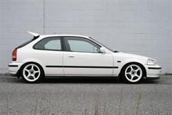 Honda 96 00 Ek Civic Hatch Zeal Wing Replica Frp