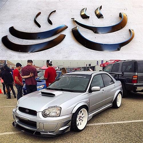 2006 Subaru Wrx Sti For Sale >> 2004-2005 Subaru Impreza WRX STi Wide Body Fender Flares ...