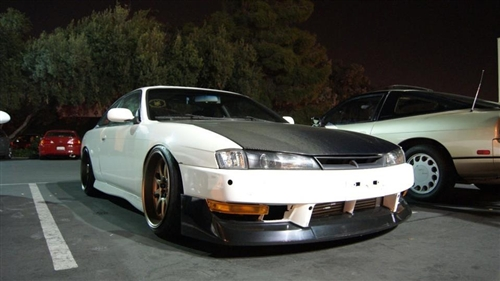 NISSAN 240SX S14 GREDDY STYLE FRONT BUMPER LIP (FOR JDM ...