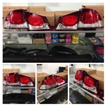 JDM FD2 Civic DEPO Type R Style Tail Lights (Late Model) 09-11
