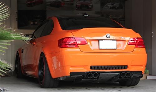2007 BMW 335Xi >> BMW E92/E90 M3 VS4 Rear Diffuser - Carbon Fiber