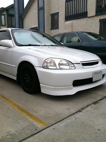 Edm Vti Front on 98 Civic Rear