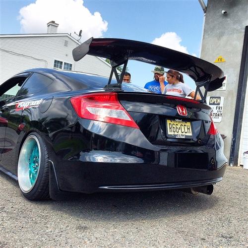 Js Racing Style Spoiler Frp Civic 2012 2 Door